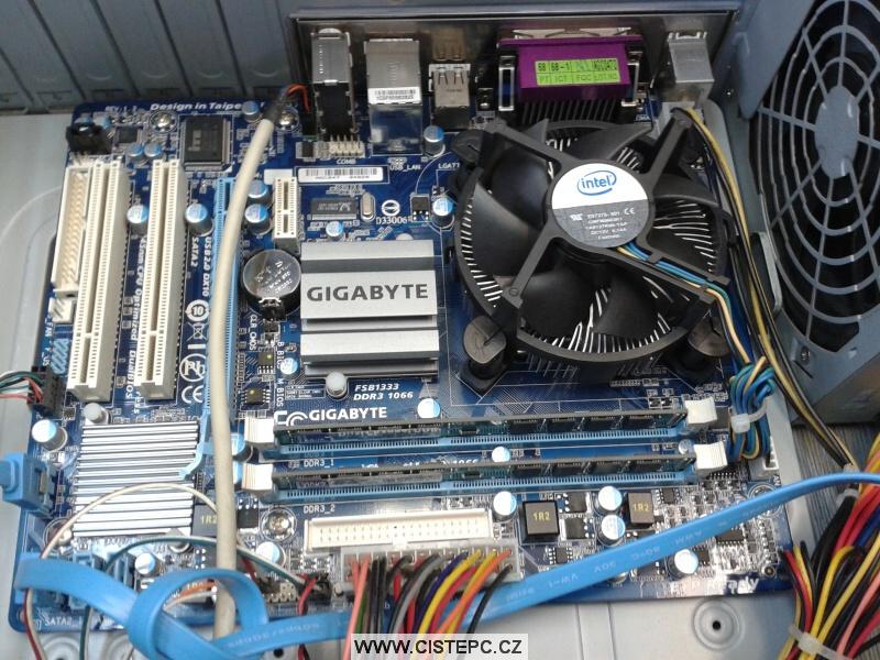 Jak vyčistit chladič procesoru a základní desku Gigabyte