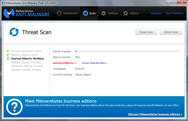 Anti-malware 1