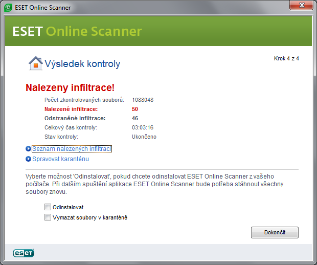 eset online scanner 4