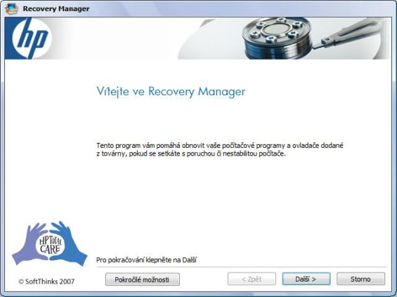 Recovery magager 1