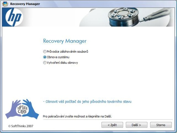 Recovery magager 2