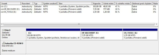 Jak přeinstalovat notebook HP 530