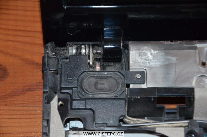Jak vyčistit notebook HP 4520s 5
