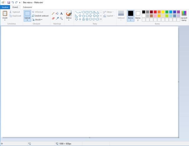 jak vyfotit obrazovku pc print screen malovani