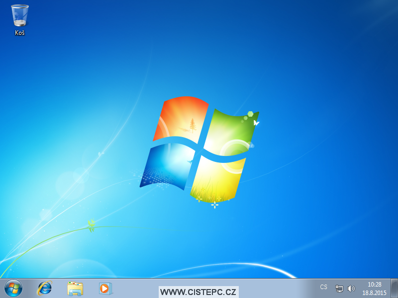 windows 7 instalace 1