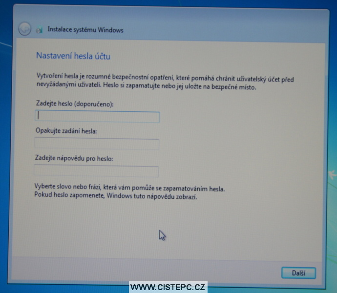 windows 7 instalace 13