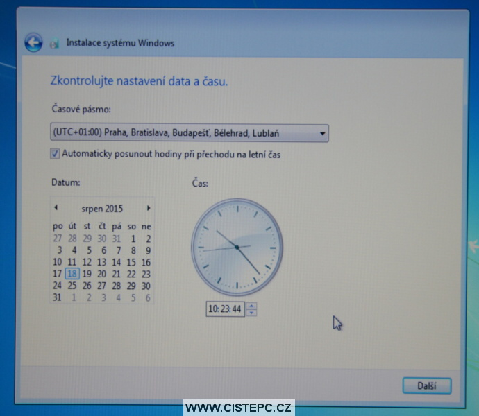 windows 7 instalace 16