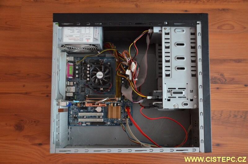 čištění počítače od prachu 01