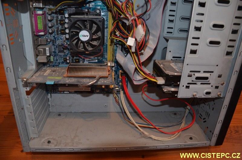čištění počítače od prachu 06