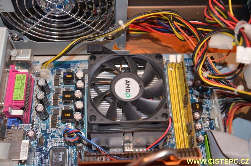 čištění počítače od prachu 11