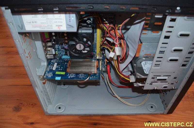 čištění počítače od prachu 12