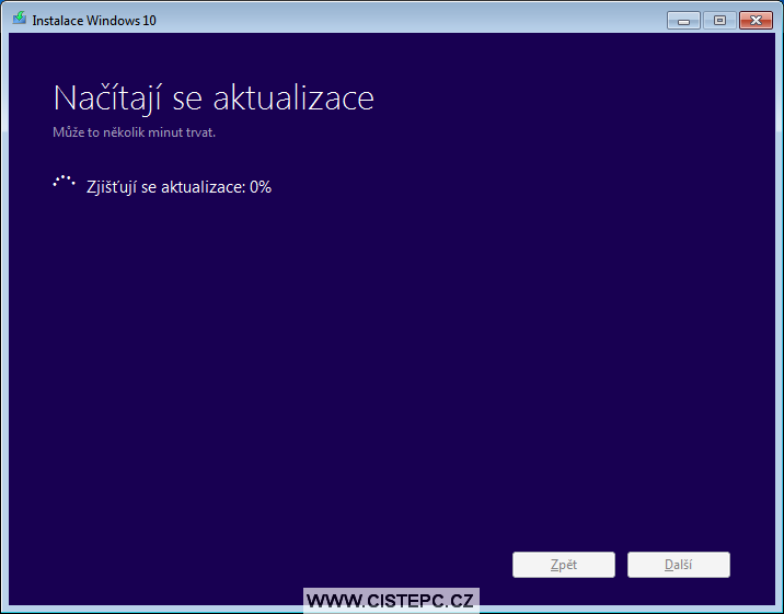windows 10 instalace 3
