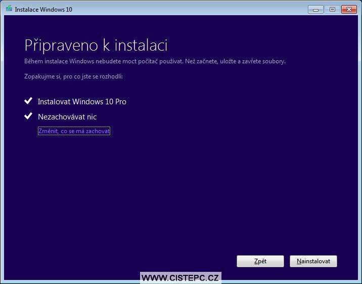 windows 10 instalace 4