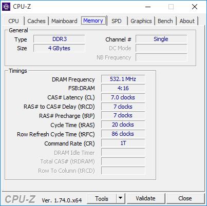 cpu-z 4 memory