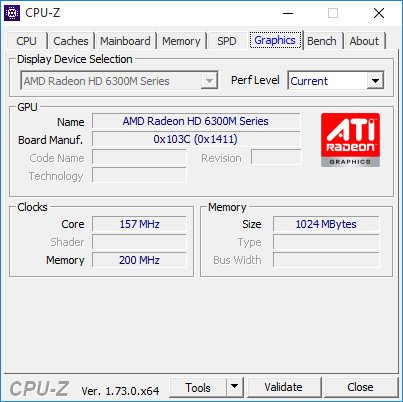 cpu-z 7 graphics