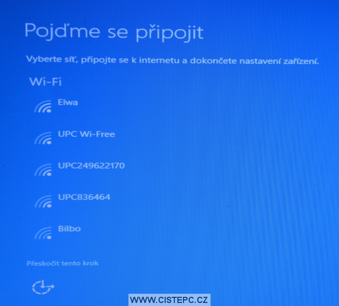 Windows 10 čistá instalace 15