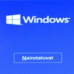 Čistá instalace Windows 10 z usb disku