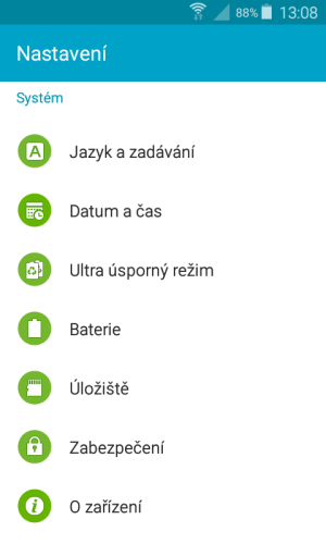 aktualizace android samsung mobil 1