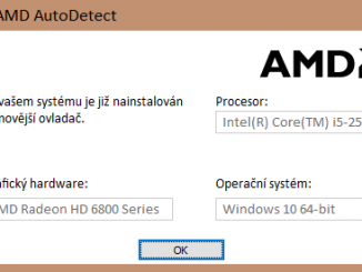amd ovladač grafické karty ati driver 2