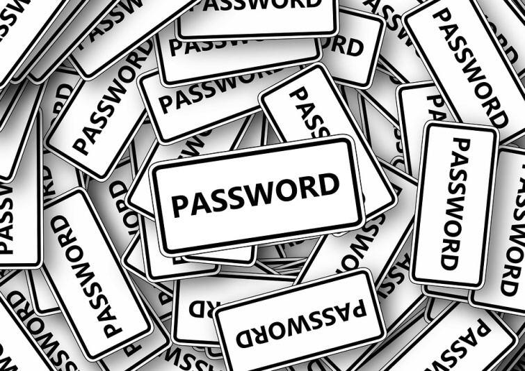 password heslo windows 10