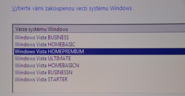 windows vista instalace 10