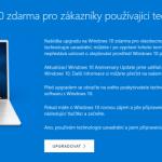 Windows 10 je stále zadarmo ke stažení. Vy ještě nemáte upgrade?