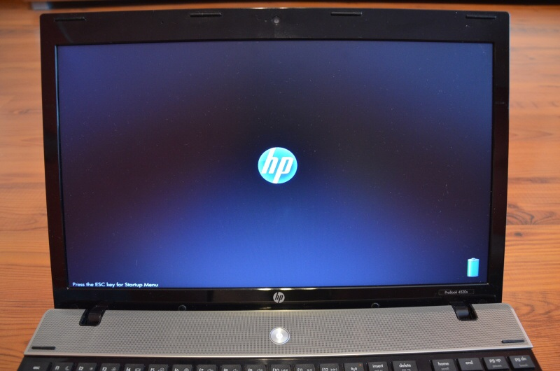 bios hp notebook
