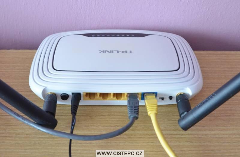router tp-link tl-wr841nd zapojení