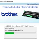 Instalace tiskárny Brother DCP-1510e