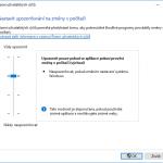 Jak vypnout nástroj pro řízení uživatelských účtů
