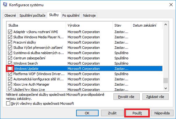 windows10 aktualizace 2