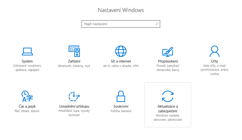 windows10 aktualizace 4