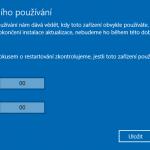 Restart počítače po stažení aktualizace nastavíte sami