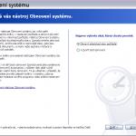 Obnovení systému Windows XP
