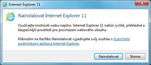 Internet Explorer 11 pro Windows 7 5
