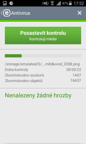 mobile security antivirus eset 09