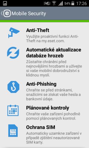 mobile security antivirus eset 15