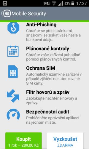 mobile security antivirus eset 16