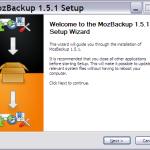 MozBackup – zálohujte oblíbené v Mozilla Firefox