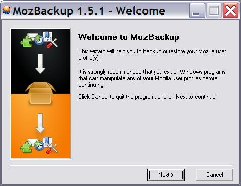MozBackup 5