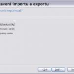 Oblíbené položky – záloha a obnovení v Internet Exploreru
