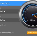 Měření rychlosti připojení k internetu