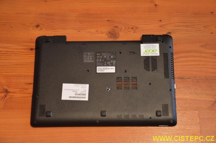 výměna disku notebook acer 7