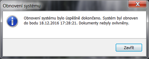 windows 7 obnovení systému 10