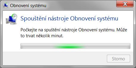 windows 7 obnovení systému 5