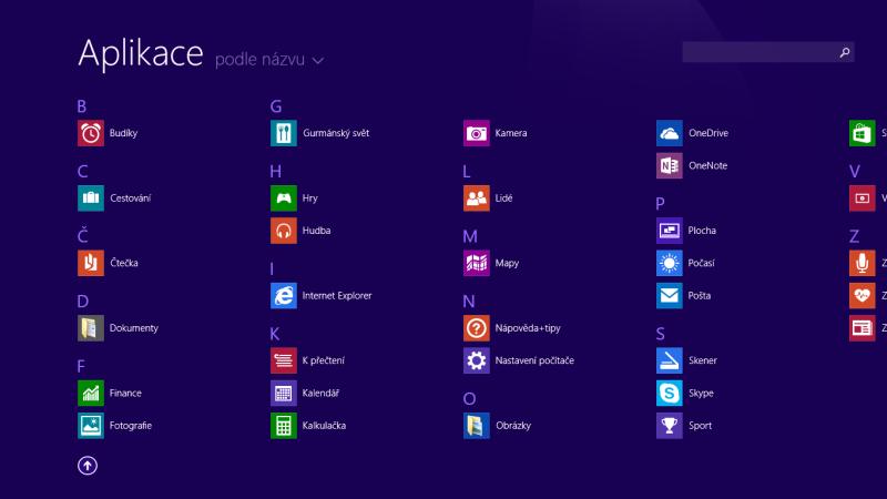 windows 8 aplikace