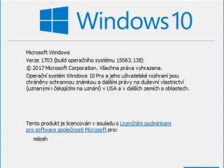 jak zjistit verzi windows 10 2