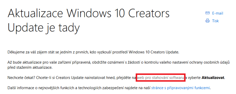 Windows 10 Creators update 4