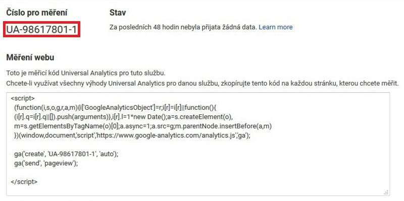 google analytics registrace 03