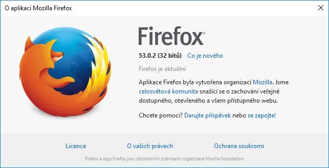 mozilla firefox aktualizace 2